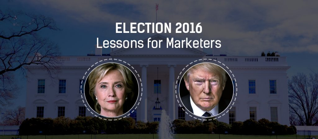 Lessons for Brand Marketers from US Presidential Election 2016