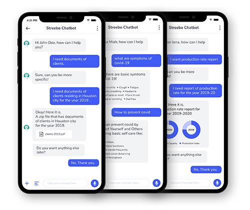 Chatbot for sap