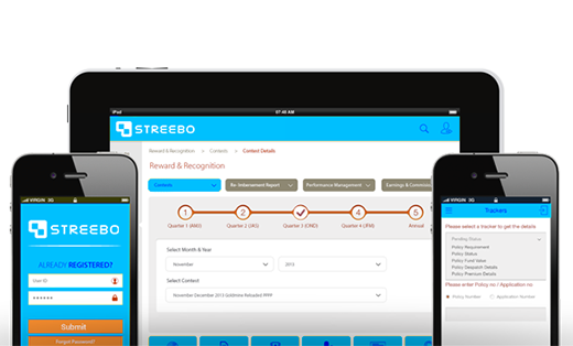 Empower agents and engage customers better with Streebo Mobile Insurance App and Omni-channel Solutions