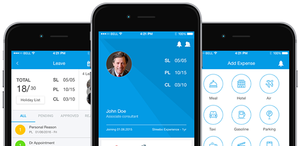 Accelerate the employee attendance and expense submission with Streebo Mobile HR App and Omni-Channel Solutions